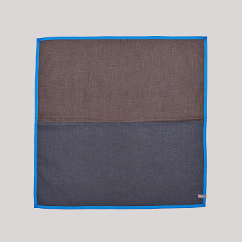 COLOR LINING TEA TOWEL-BLUE