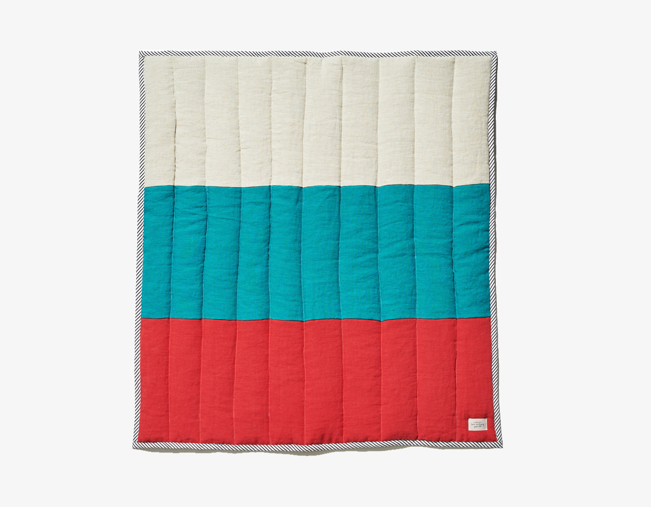 KIDS STRIPE BLANKET_RED