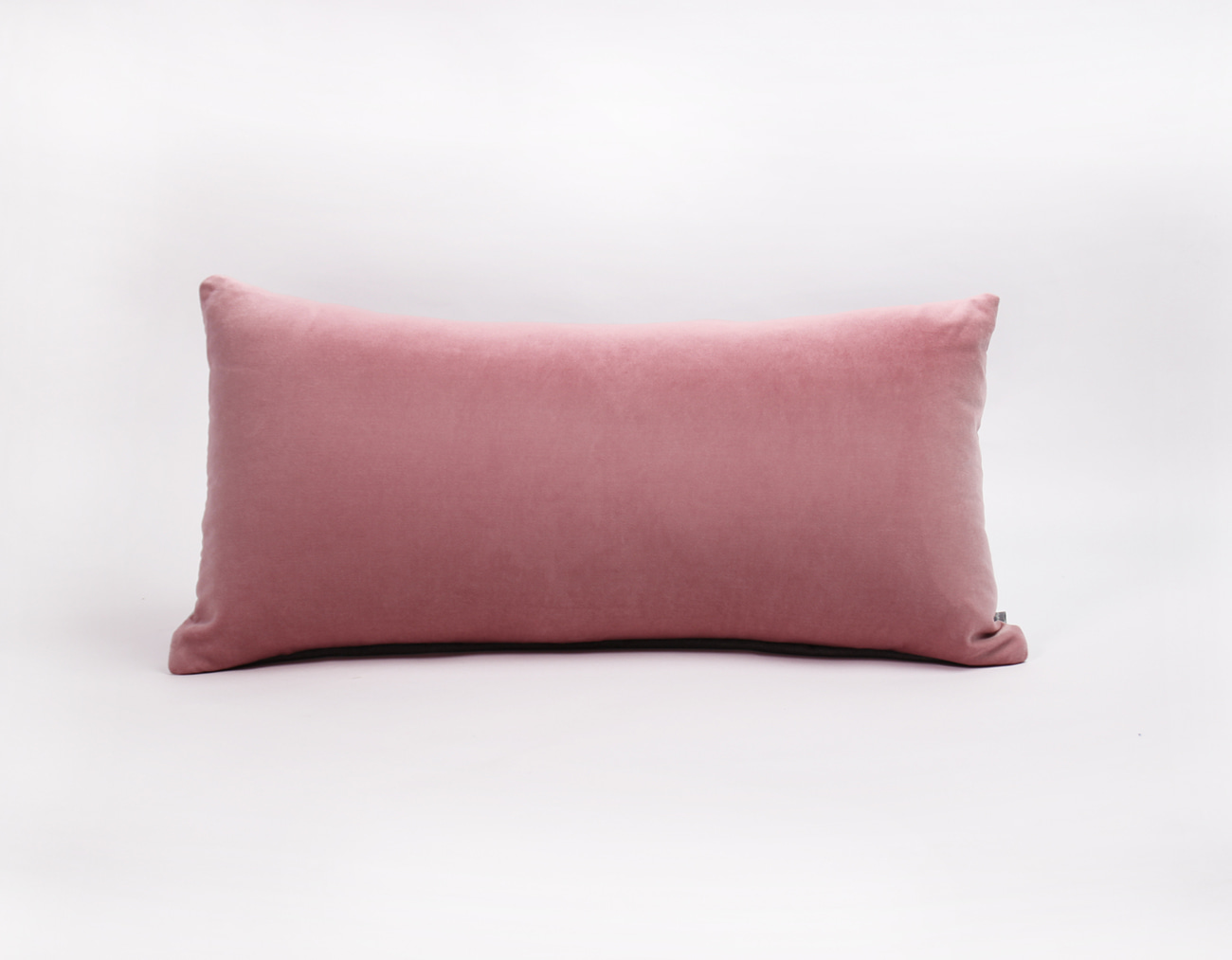 VELVET STITCH CUSHION_PINK