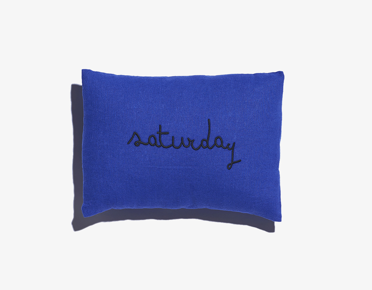 WEEKEND CUSHION-ROYAL BLUE