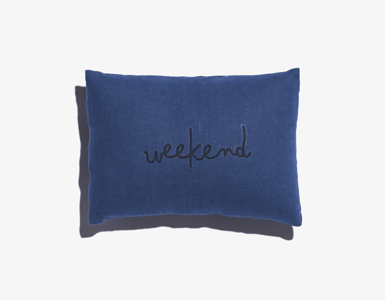 WEEKEND CUSHION-NAVY