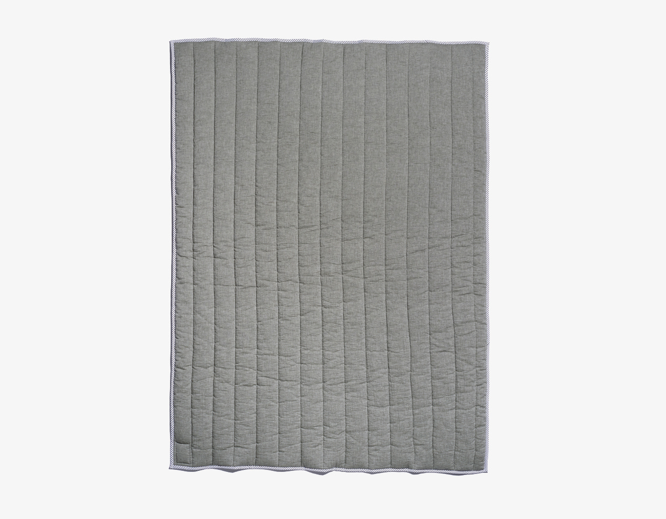 DOUBLE COTTON BASIC BLANKET-KHAKI
