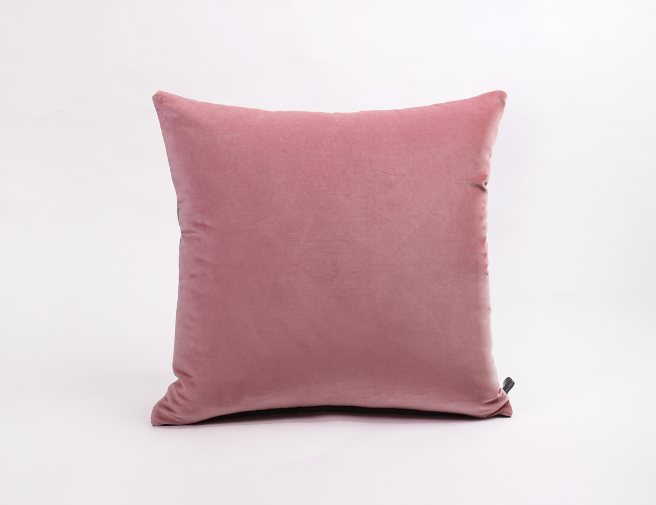 VELVET STITCH CUSHION_50x50 PINK